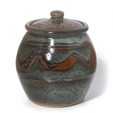 John Leach - Decorated Lidded Jar