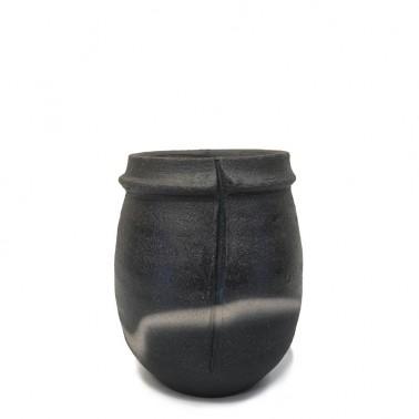 JL7 - Black Mood Vase (H.10.25cm)