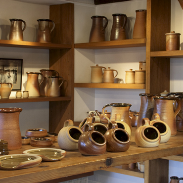 Muchelney Pottery Shop